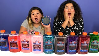 ALEXA PICKS MY SLIME INGREDIENTS