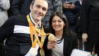 """Corato. Mazzone torna al """"Tannoia"""" con le medaglie di Rio"""