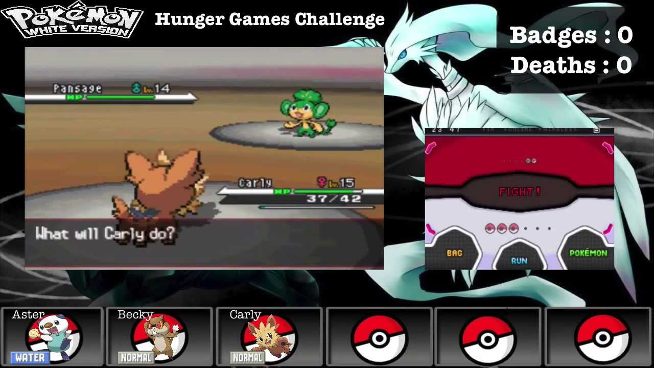Pokemon white hunger games challenge ep 8 facing the for Gimnasio 8 pokemon reloaded