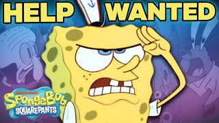 SpongeBob SquarePants First Episode in 5 Minutes!  HELP WANTED
