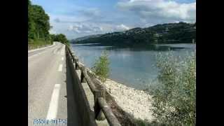 Le tour du Lac Bleu, Charavines, Paladru.