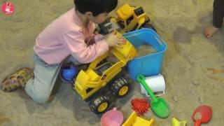 뽀로로 키즈 카페 테마파크 어린이 놀이! 로보카 폴리 모래놀이 ♡ 어린이 장난감 놀이 동탄점 #5 Indoor Playground Fun | 말이야와아이들 MariAndKids