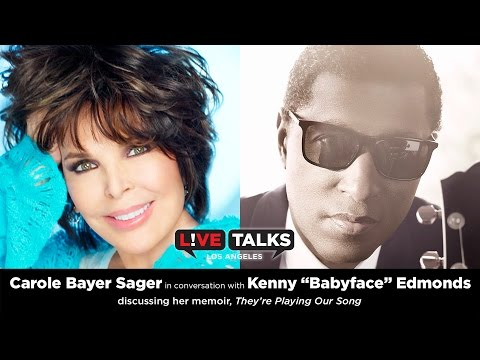 "Carole Bayer Sager in conversation with Kenny ""Babyface"" Edmonds"