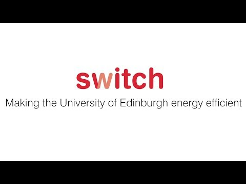 The Switch campaign at the University of Edinburgh