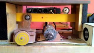 el yapımı kıl testere-homemade scroll saw