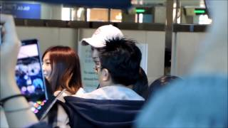 131021 A Pink - HaYoung 하영 @ Taoyuan Airport 桃園機場