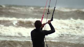 Kiteboarding Jump 60 ft