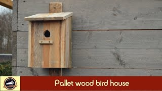 Pallet wood Birdhouse | DIY | HOW-TO | Working with new clamps | #8