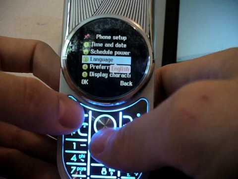 Motorola Aura Dual Sim 1.5 inch screen, rotative, metal body