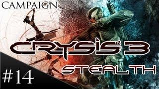 Crysis 3 Stealth Walkthrough: Part 14 - Safeties Off - [HD] Gameplay