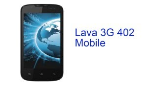 Lava 3G 402 Mobile Specification [INDIA]