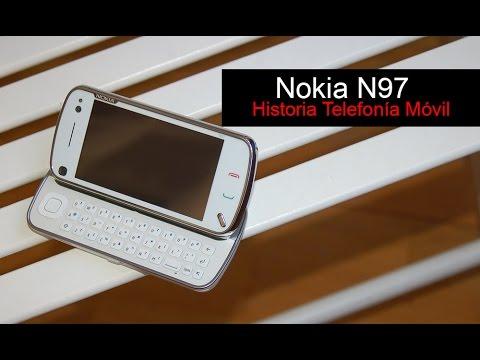 Nokia N97, anunciado en 2008 | Historia Telefonía Móvil