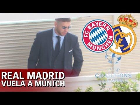 El Real Madrid ya está en Múnich   Diario AS