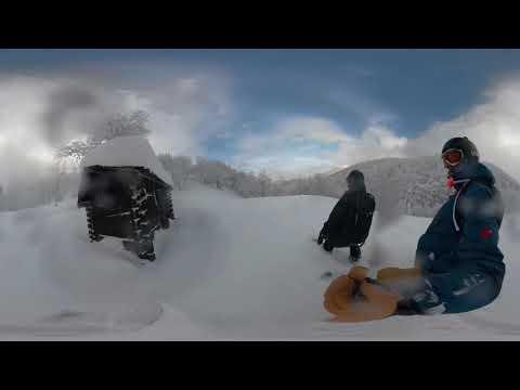 360° EX Powder Snowboarding VR Vratna, Chleb, Slovakia