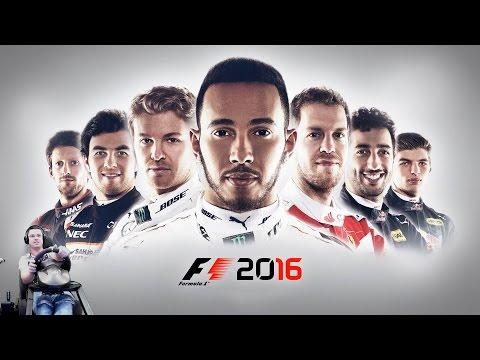 Королевский автоспорт - F1 2016 Прохождение полных Уик-эндов  на руле Fanatec Porsche 911 GT2
