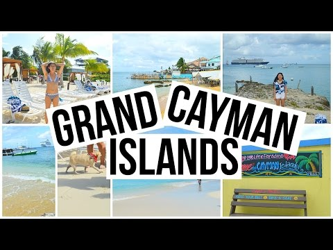 HIDING MONEY IN THE CAYMAN ISLANDS, CREEPING, AND FALLING BALLOONS??!!! | Christmas Cruise Day 11