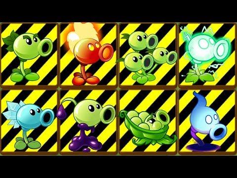 Plants Vs Zombies 2 Proteger A 8 Lanzaguisantes