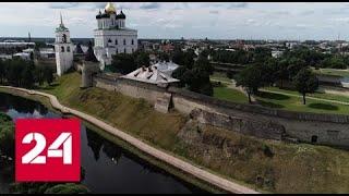 Псковский рубеж. Специальный репортаж Алексея Михалева - Россия 24