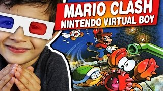 MARIO CLASH - Nintendo Virtual Boy - Gameplay Comentado em Português