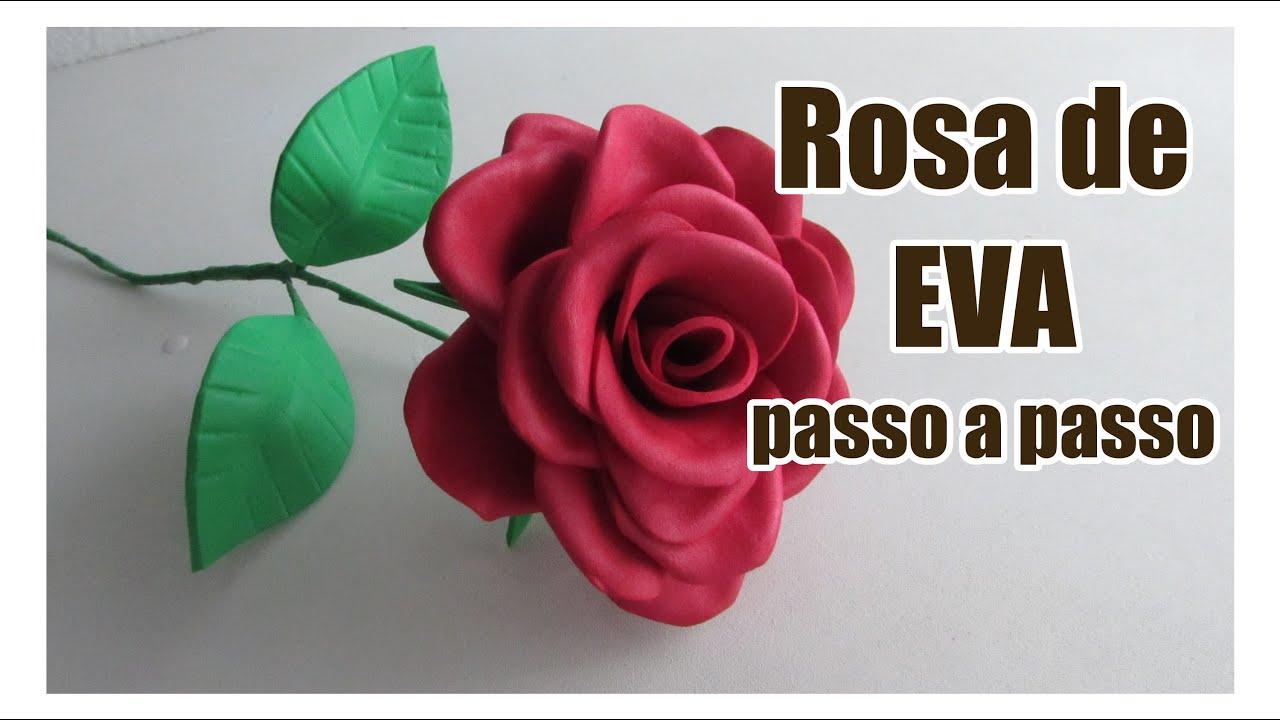 Rosa De Eva Passo A Passo Youtube
