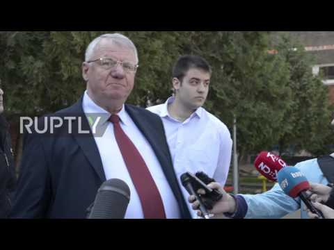 Serbia: Far-right Seselj challenges Vucic as he casts ballot in elections