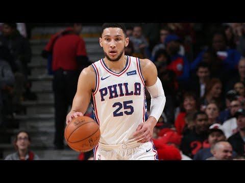Ben Simmons Game Winner Career High 32 Points! 2017-18 Season
