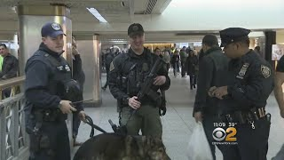 Security Stepped Up In Wake Of Port Authority Blast