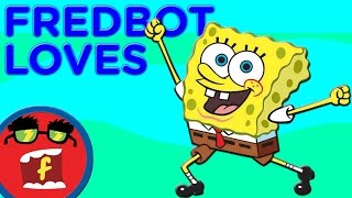SpongeBob SquarePants Top 10 Things Fredbot Loves