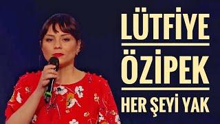 Lütfiye Özipek - Her Şeyi Yak | O Ses Türkiye Yarı Final.