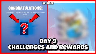 Fortnite 14 Days Of Summer Day 9 Challenges and Rewards