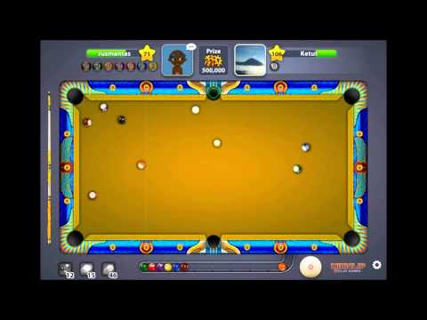 Miniclip Pool -  Crazy Cairo Game Win for 500 000 Chips