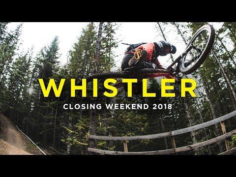 Whistler Bike Park Closing Weekend 2018