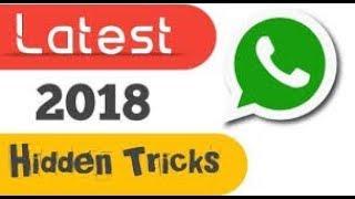 WhatsApp के लेटेस्ट हिडन फीचर्स | All technical tips and tricks |