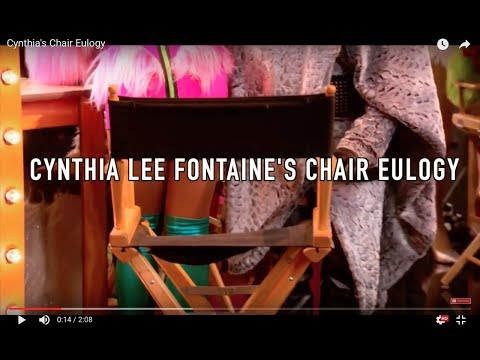 Untucked the Musical - Cynthia Lee Fontaine's Chair Eulogy