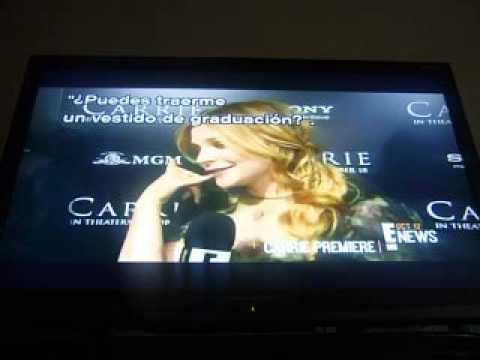 Chloe Moretz Interview Carrie Premier Hollywood on E! NEWS