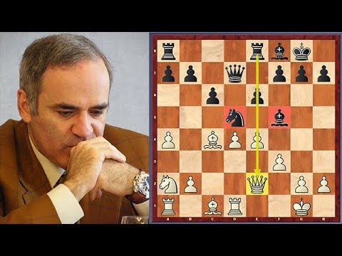 Look How Kasparov Tricked Anand And Won In 17 Moves