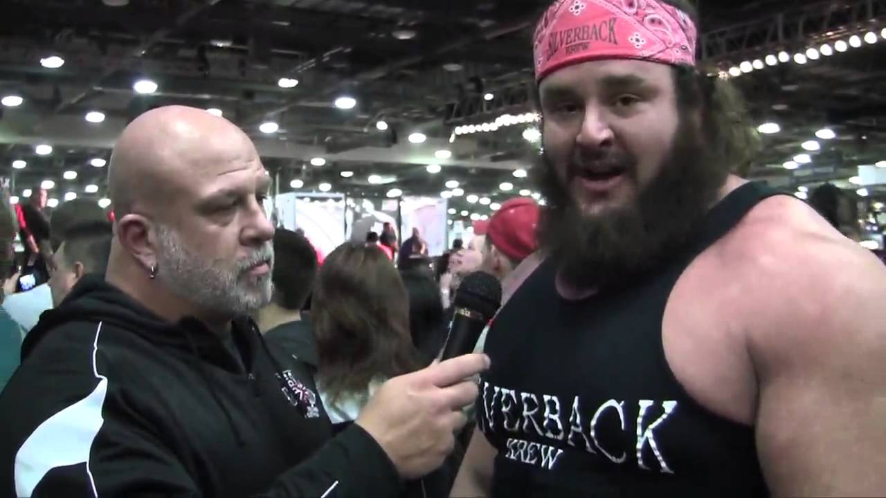 Bryan Hildebrand Interviews Pro Strongman Adam Scherr at the 2013 Arnold  Sports Festival - YouTube