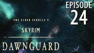Skyrim: Dawnguard Walkthrough in 1080p, Part 24: Meeting Serana at the Castle (in 1080p HD)