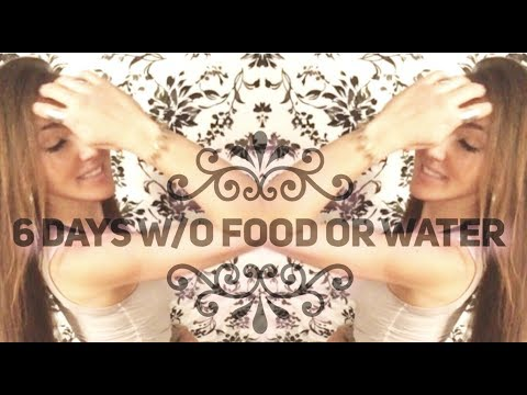 6 DAYS w/o FOOD OR WATER: EASY! Dry Fast Experiment