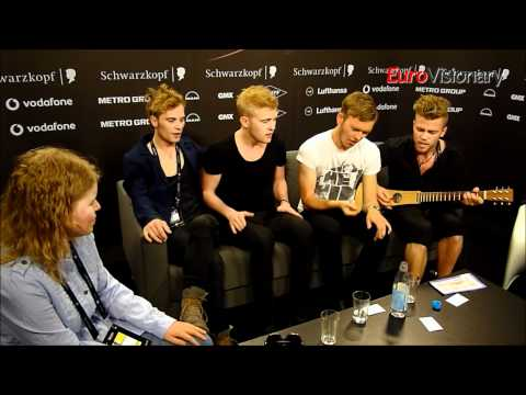 A Friend In London interview - incl. premiere of new song - Eurovision 2011 - Denmark