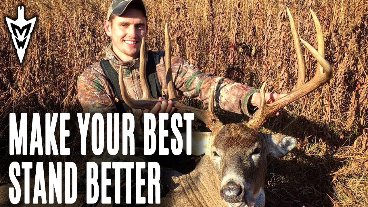 Using Screens To Improve Your Best Stands | Midwest Whitetail