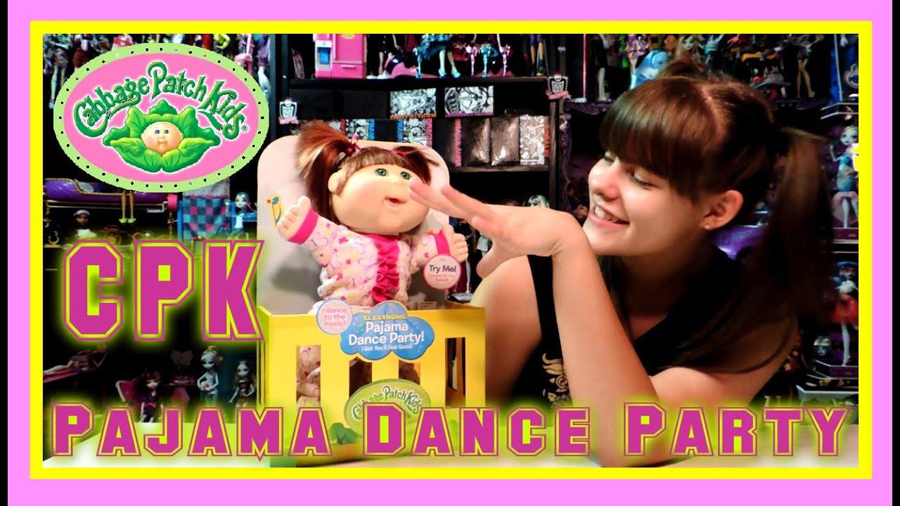 de10b28a2378 Cabbage Patch Kids Pajama Dance Party Review