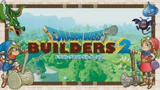Dragon Quest Builders 2 - Streamed Gameplay