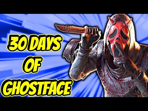 30 Days of Ghostface - Day 1 - Dead by Daylight |