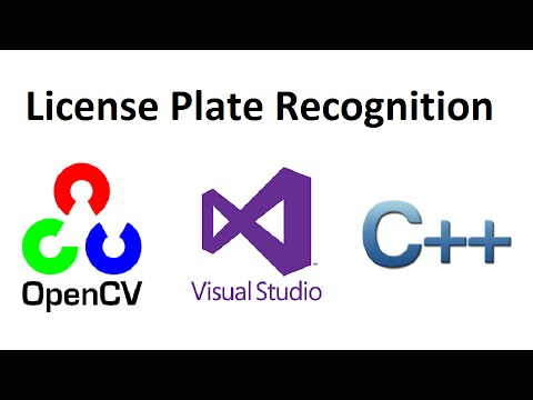 OpenCV 3 License Plate Recognition C++ full source code
