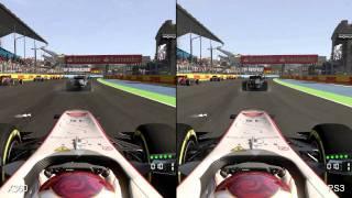 F1 2011 PS3/Xbox 360 Comparison