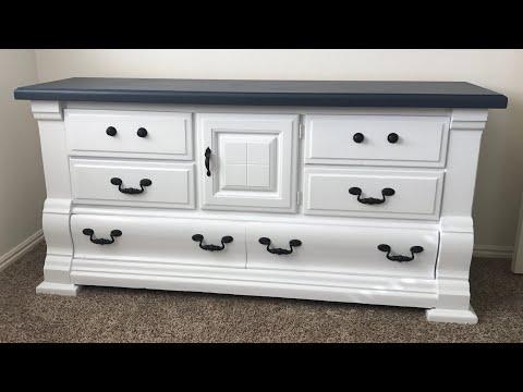 DIY Painted Dresser Chalk Paint Dresser Makeover!