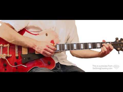 St Louis Blues - Chet Atkins - Guitar Lesson by Sean Weaver