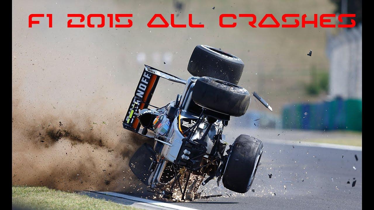 Formula  Race Car Crashes