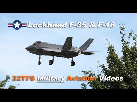 [4K] U.S. F-16C